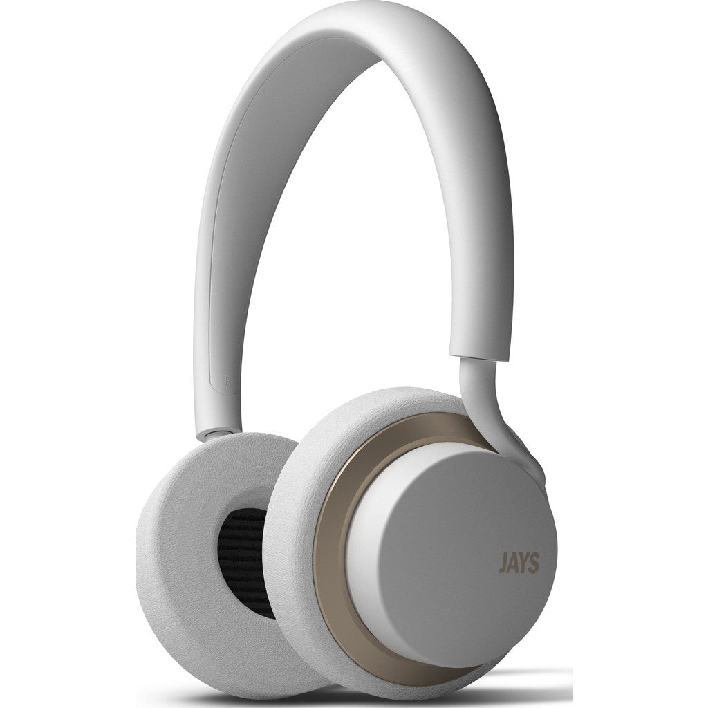 JAYS u-JAYS On-ear Headphones | White/Gold
