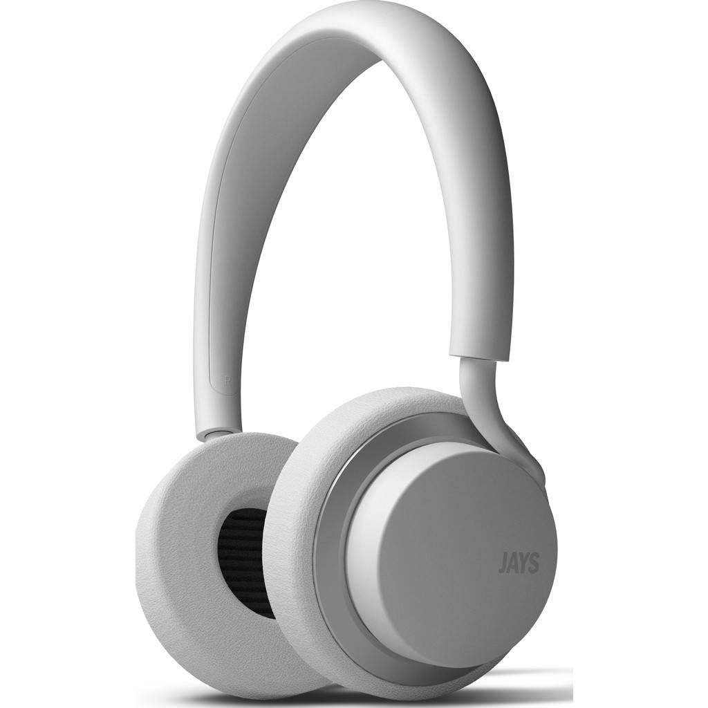 JAYS u-JAYS On-ear Headphones | White/Silver