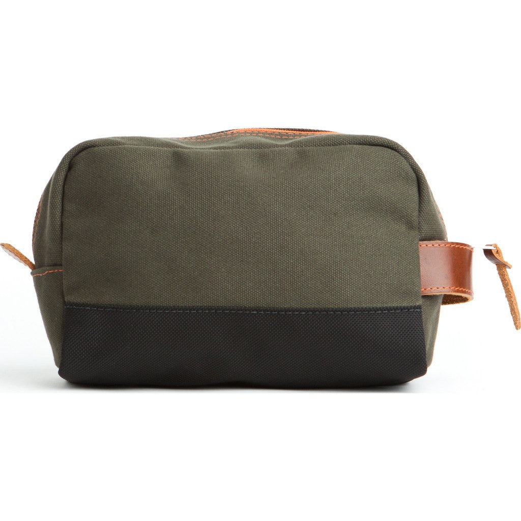 Owen & Fred Hey Handsome Shaving Kit Bag | Army Green