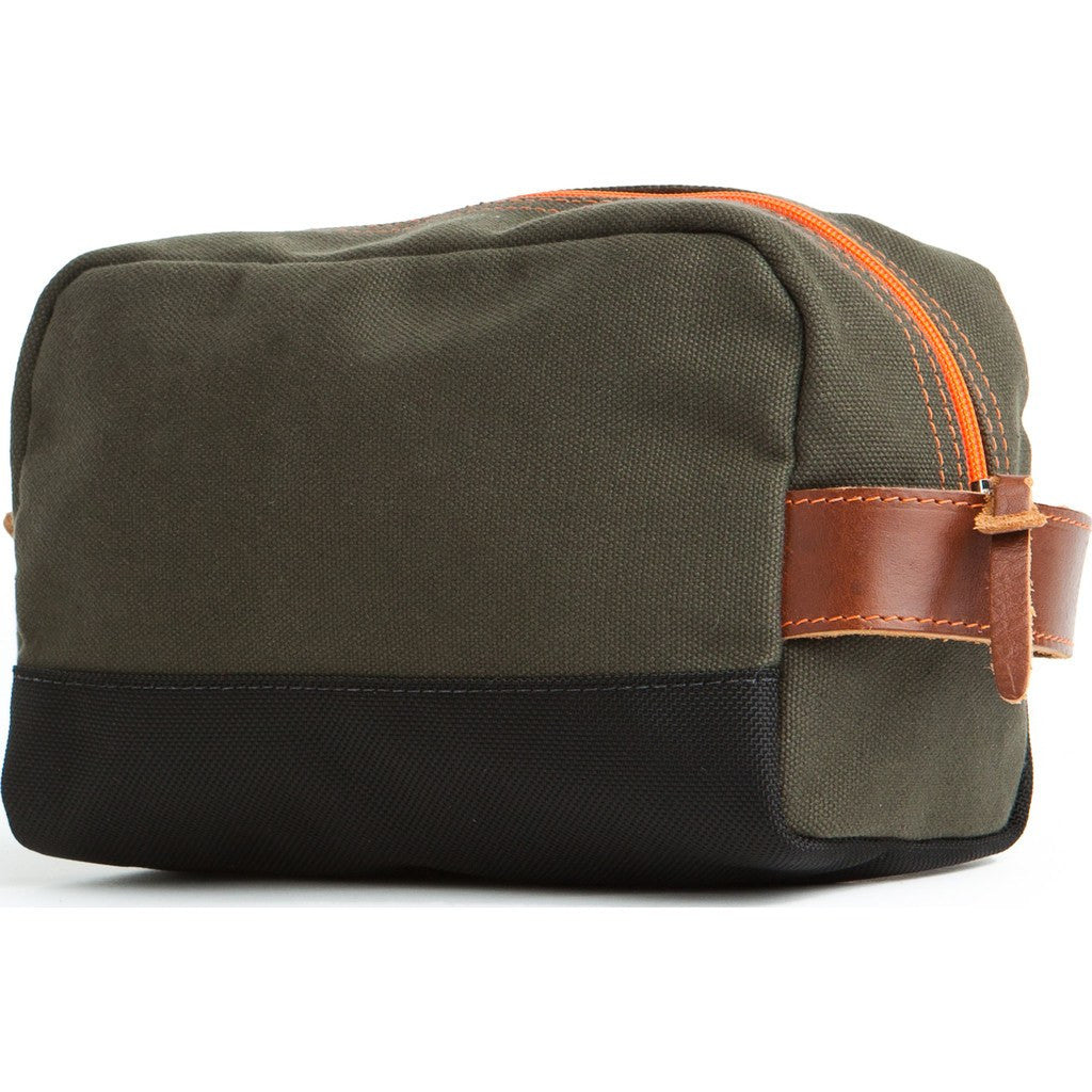 Owen & Fred Stay Sharp Shaving Kit Bag | Army Green