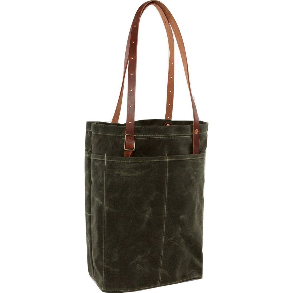 Bradley Mountain Utility Tote Bag | Pine
