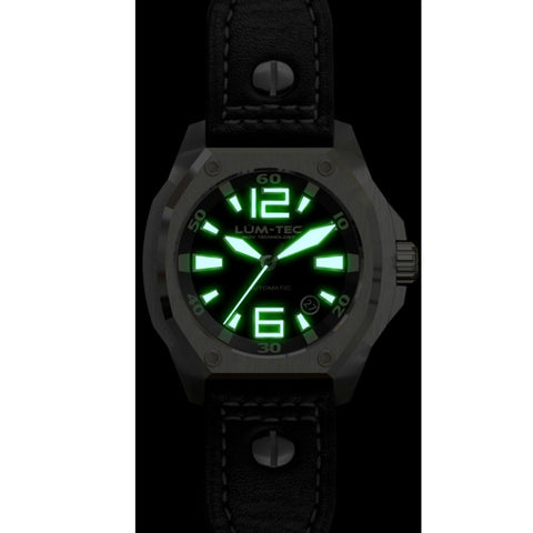 Lum-Tec V1 Watch | Leather Strap