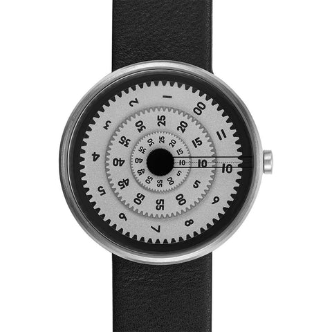 Projects Watches Vault Watch | Black/Leather