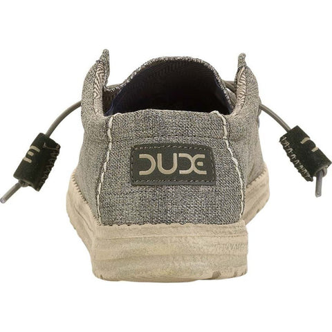 Hey Dude Wally Linen  Shoes | Sage