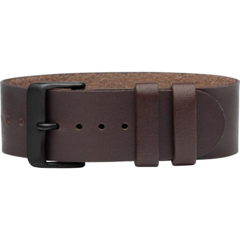 TID Natural Leather Watch Strap | Walnut