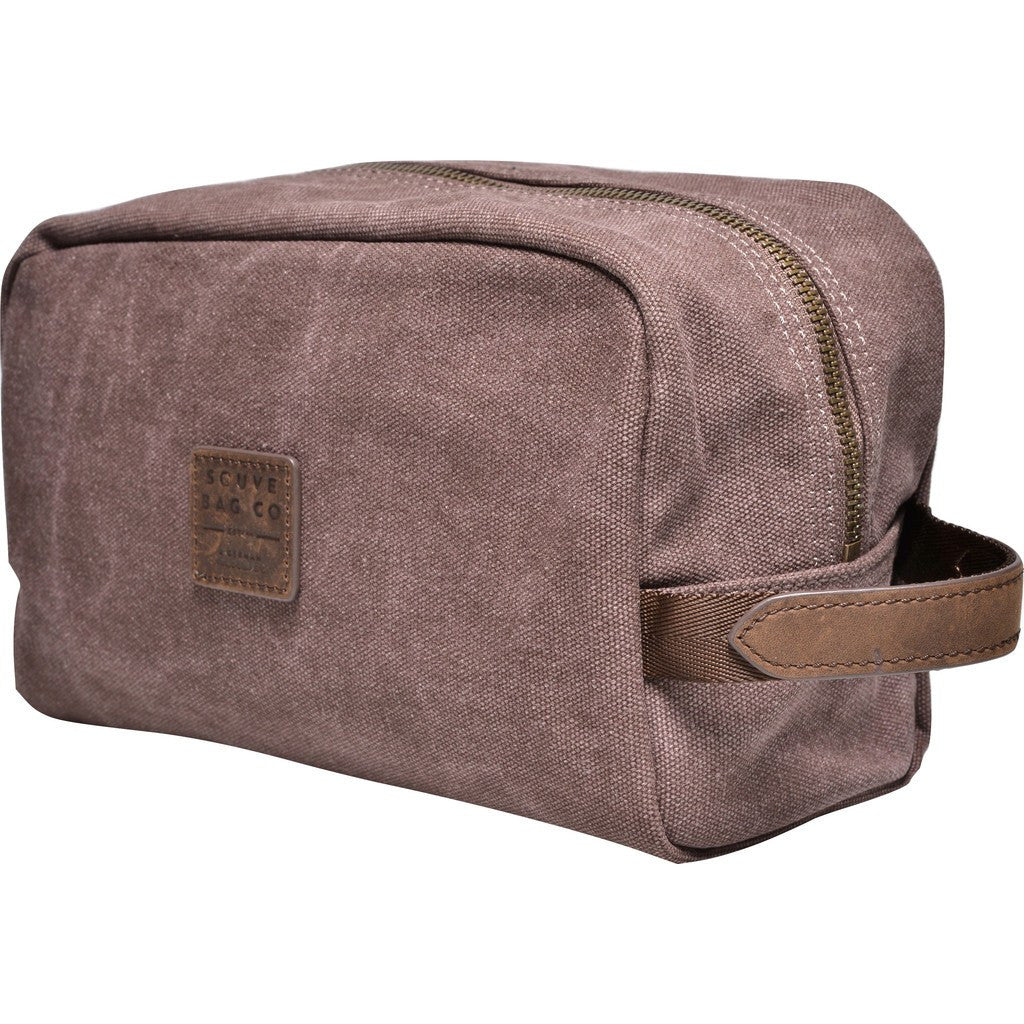 Souve Bag Co Canvas Wash Bag | Brown [AR00005]