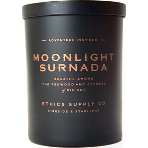 Ethics Supply Co. Organic Scented Candle | Moonlight Surnada