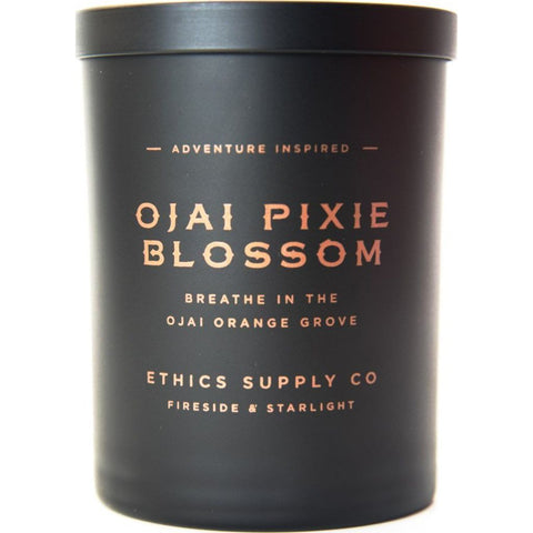 Ethics Supply Co. Organic Scented Candle | Ojai Pixie Blossom