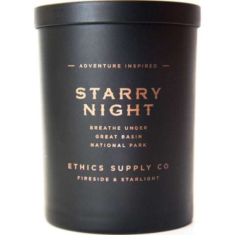 Ethics Supply Co. Organic Scented Candle | Starry Night- FSCA-02