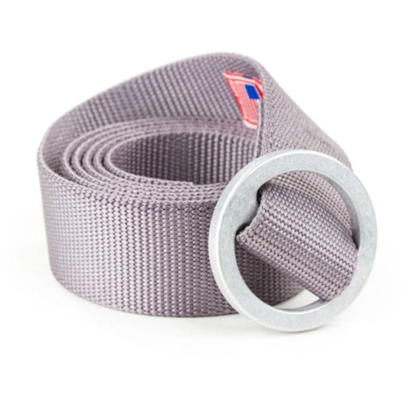 Topo Designs Web Belt Silver