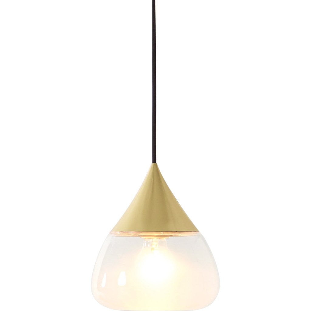 Seed Design Mist Medium Pendant Lamp | Brushed Brass SQ-8997P-BRS