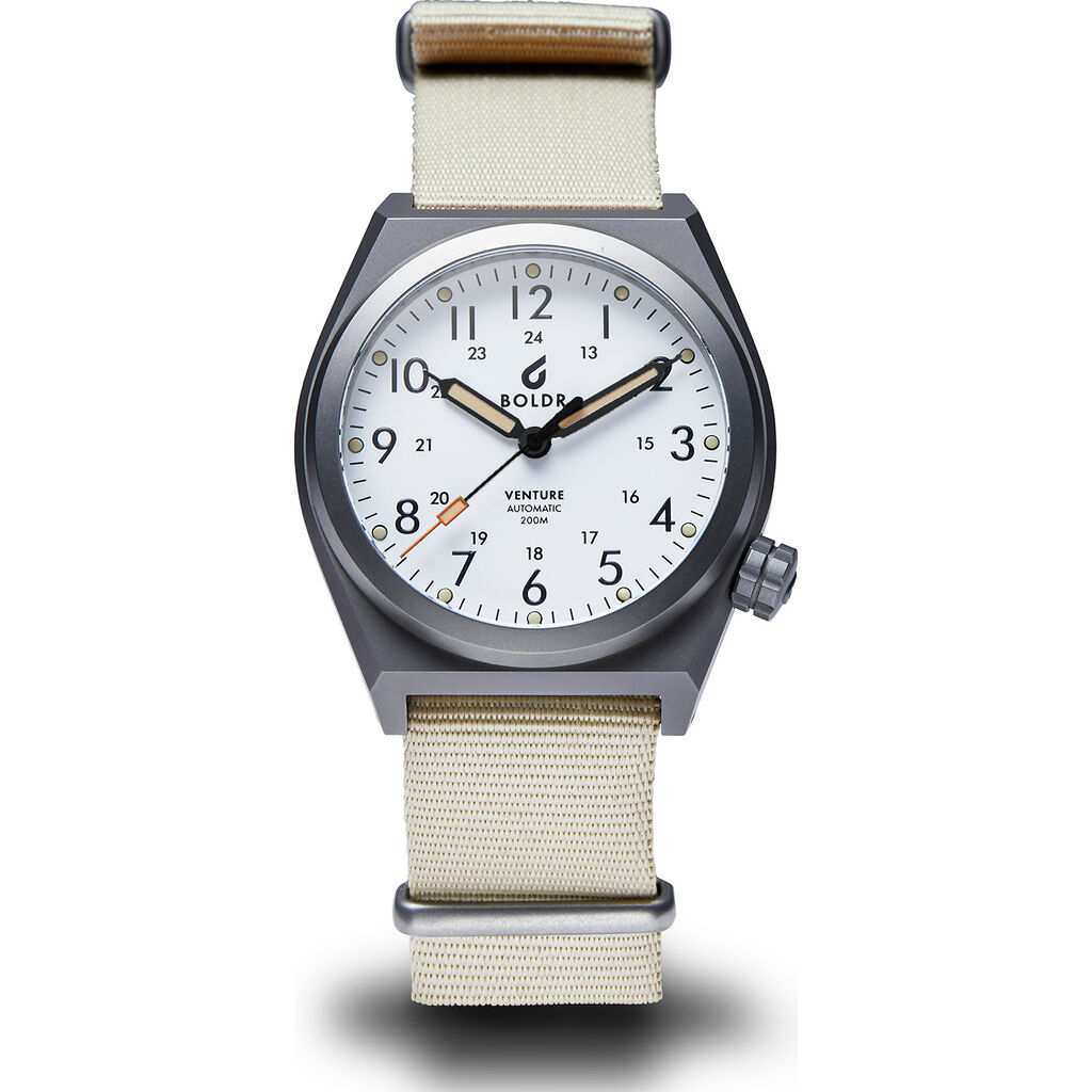 BOLDR Venture Titanium Automatic Watch
