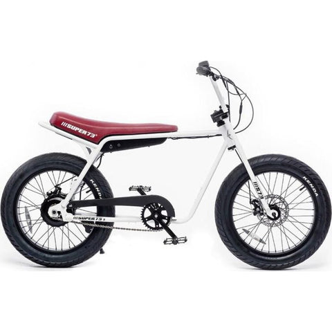 Super73 Z1 Compact Urban Electric Motorbike | White