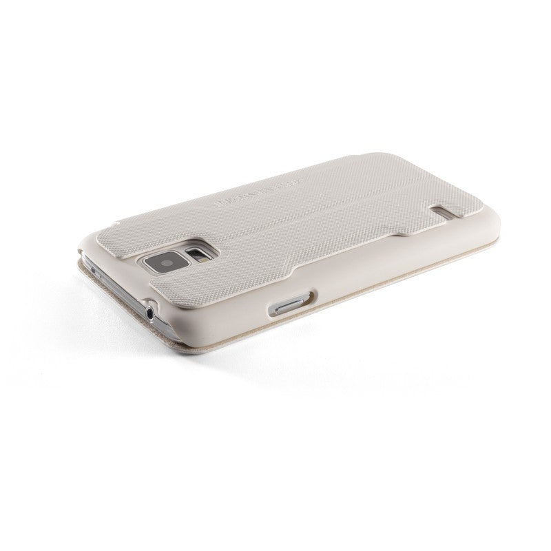 ElementCase Soft-Tec Wallet Samsung Galaxy S5 Case White/Gold