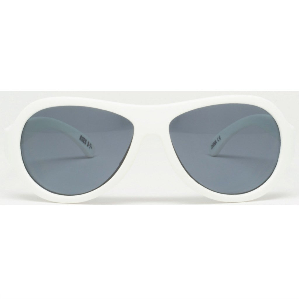 Babiators Wicked White Sunglasses | Ages 0-7+