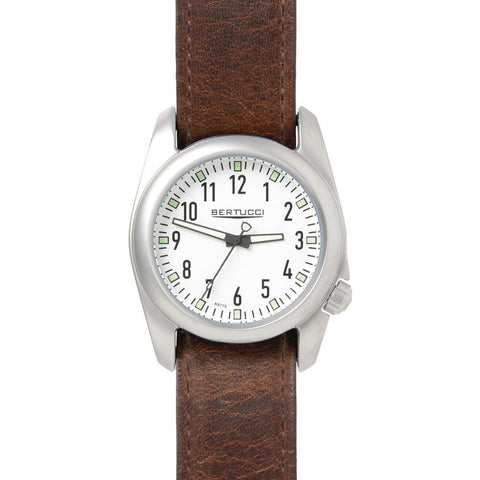 Bertucci Ventara White Wacth | Nut Brown 11075