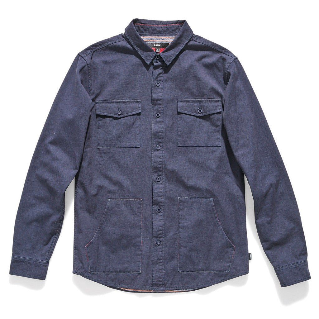 Banks Woodman Jacket | Dirty Denim WLS0032