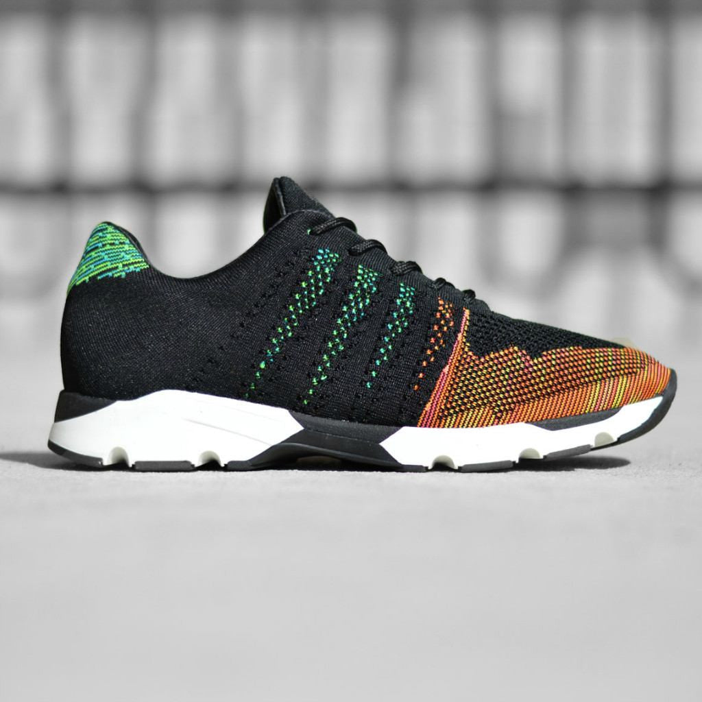 Mercer Amsterdam Wooster Knit Tech Runner Shoes | Multi