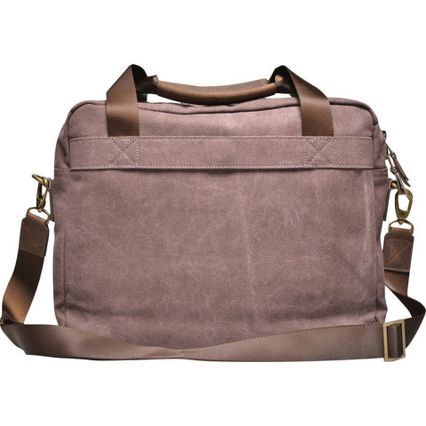 Souve Bag Co Canvas Work Briefcase | Brown [AR00077]