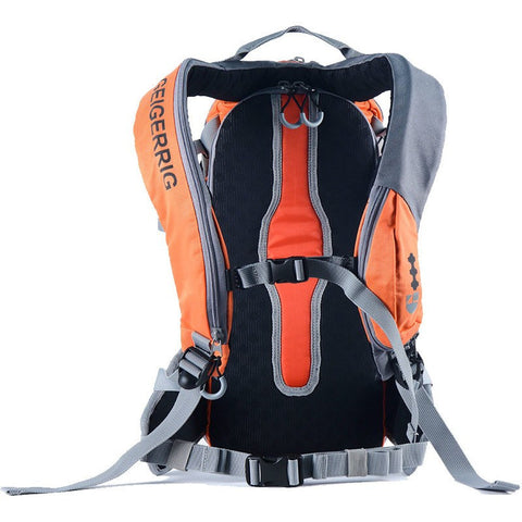 Geigerrig Rig 650 Hydration Backpack | Orange Gunmetal