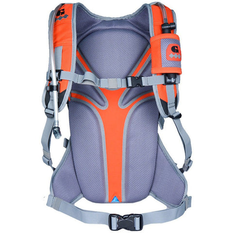 Geigerrig Rig 700M Hydration Backpack | Orange Gunmetal