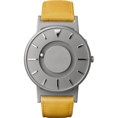 Eone Bradley Watch Classic | Yellow Canvas & Leather