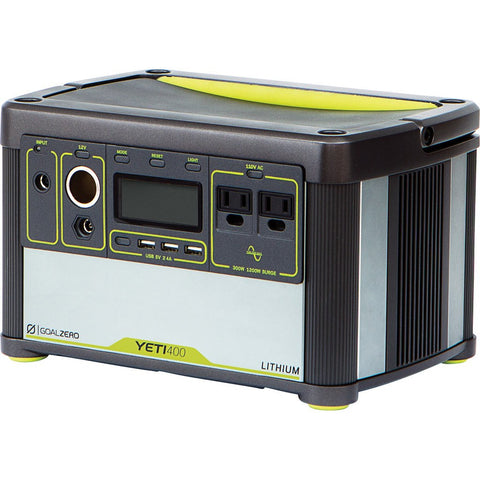 Goal Zero Yeti 400 Lithium Portable Power Station 38000