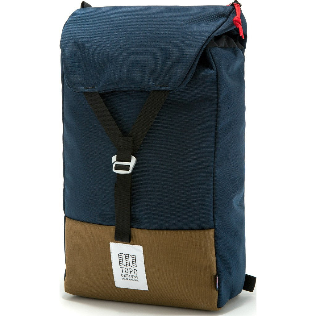 Topo Designs Y-Pack Backpack | Navy/Coyote