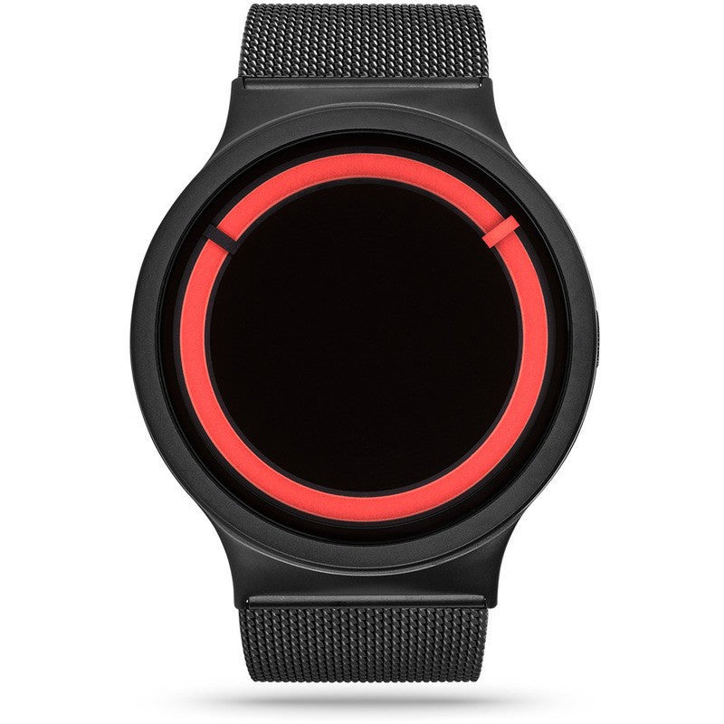 ZIIIRO Eclipse Metallic Black - Red Watch | Z0012WBR