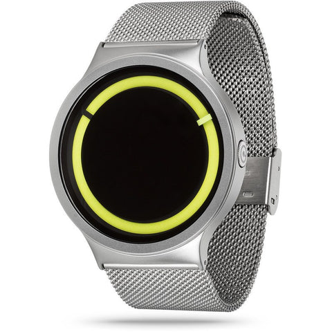 ZIIIRO Eclipse Metallic Chrome - Lemon Watch | Z0012WSY