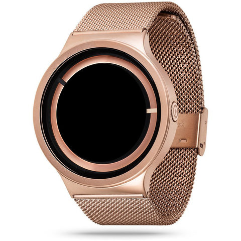 ZIIIRO Eclipse Metallic Rose Gold Watch | Z0012WRR