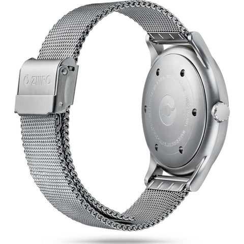 ZIIIRO Solaris Watch | Chrome Chill