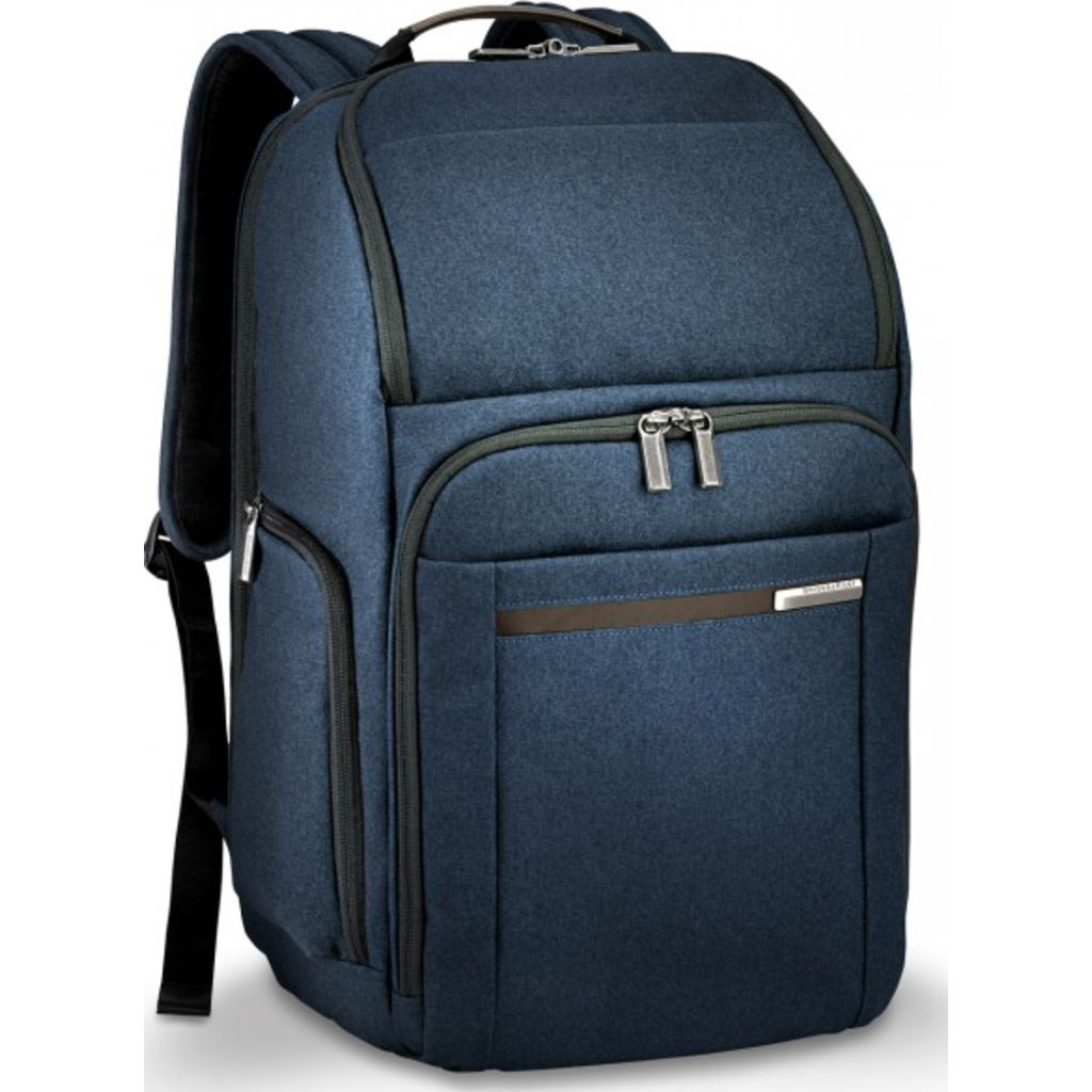 Briggs & Riley Large Backpack | Navy