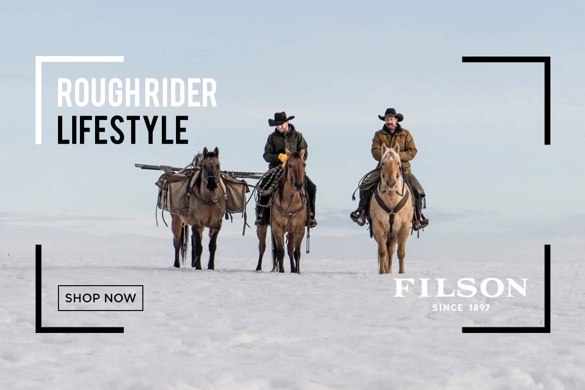 Premium quality apparel and outerwear for a rugged lifestyle from Filson at Sportique