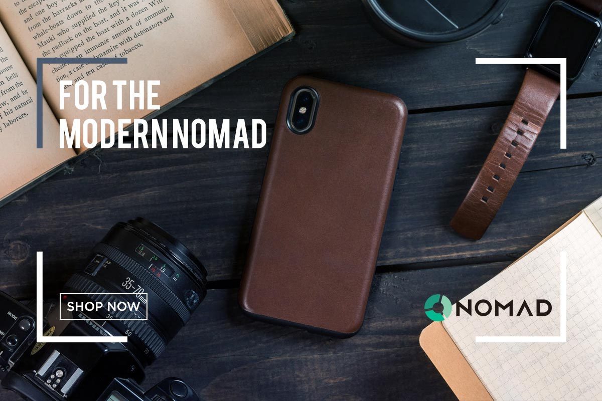 Minimalistic premium leather goods for your most prized accessories from Nomad at Sportique