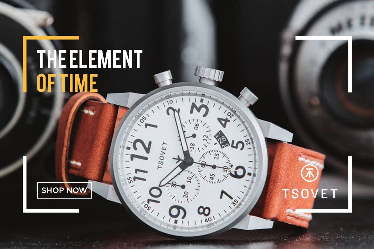 Innovative premium timepieces from Tsovet at Sportique