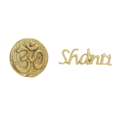Om Shanti Earrings