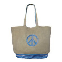 Sari Peace Tote Bag