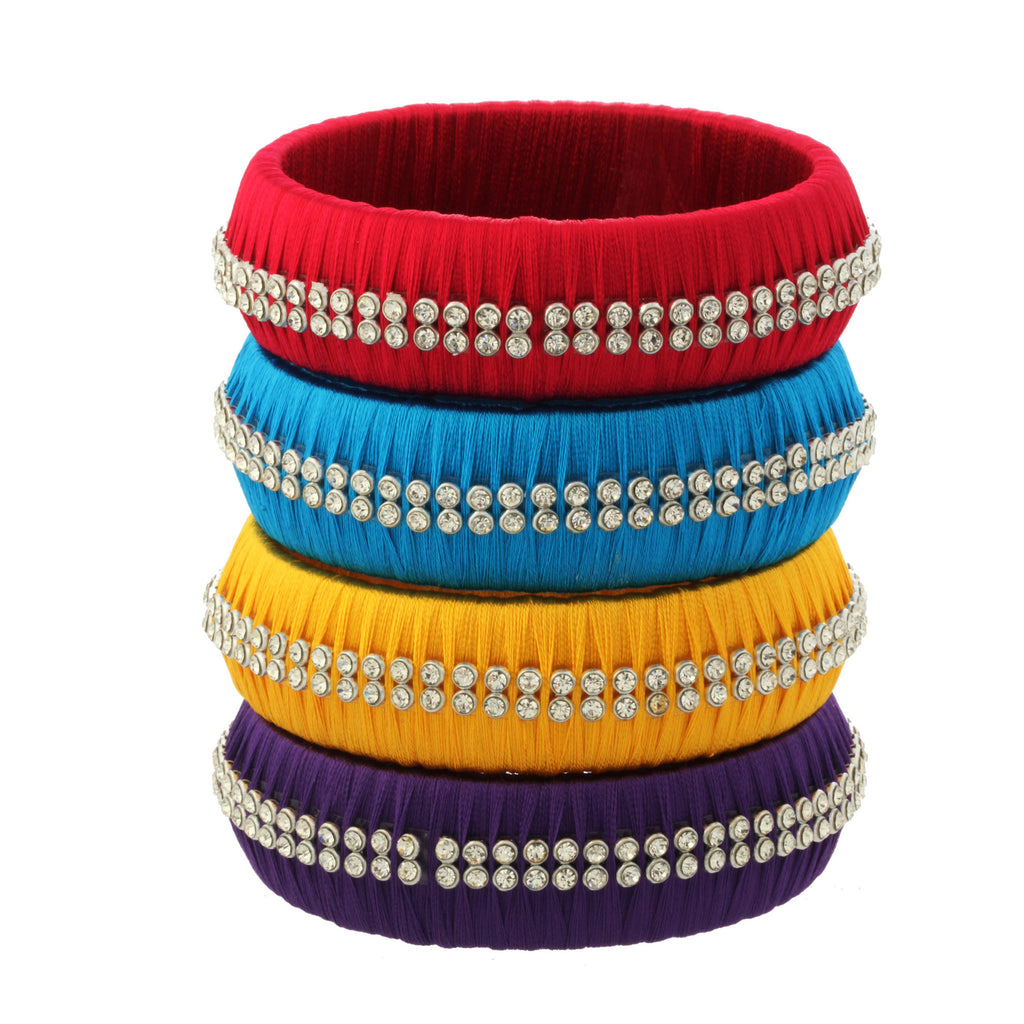 Jewel of the Style Bangles--Wide