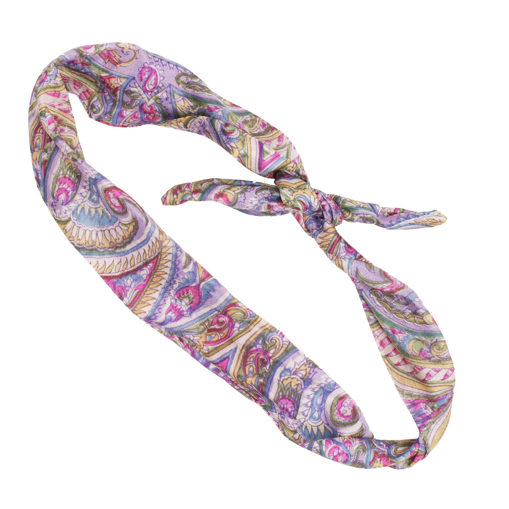 Bhaghinii Headband with Adjustable Wire Twist