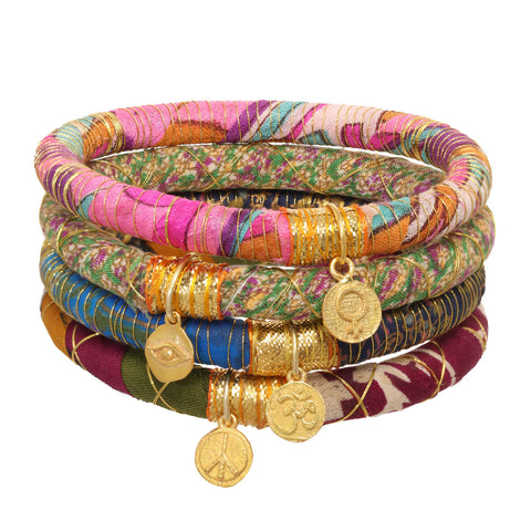 Sari Charm Bangle For Two Days of School