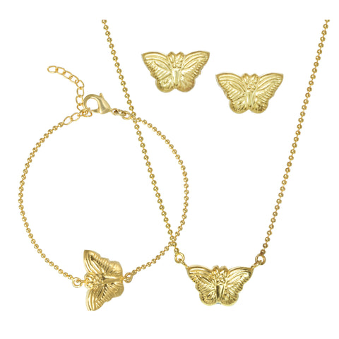 Butterfly Charm Set of 3