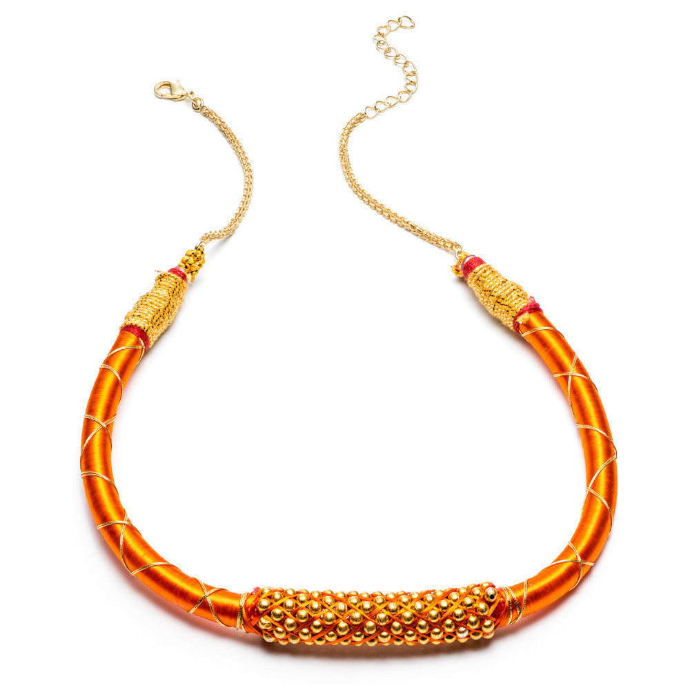 Gold Accent Nilgiri Necklace
