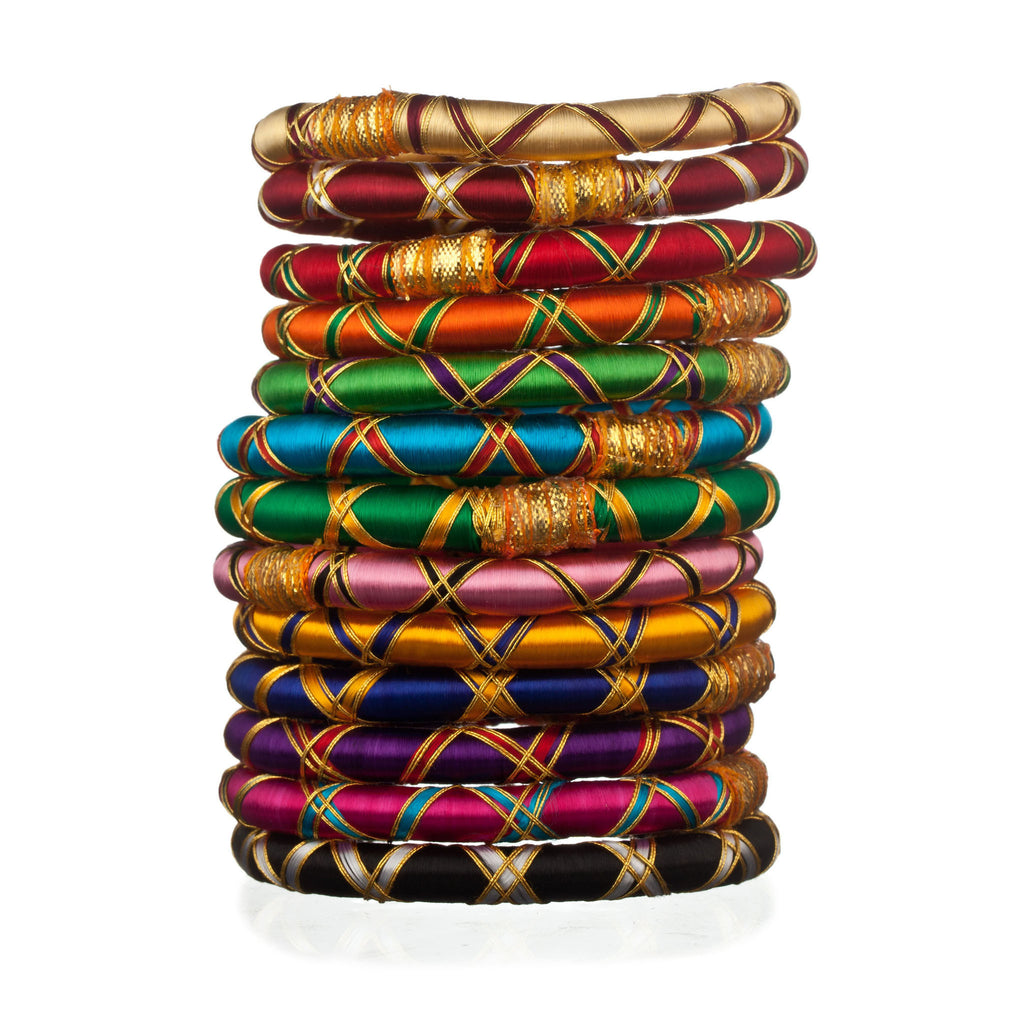 Monsoon Ribbon Bangles