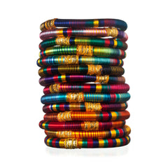 Monsoon Striped Bangles