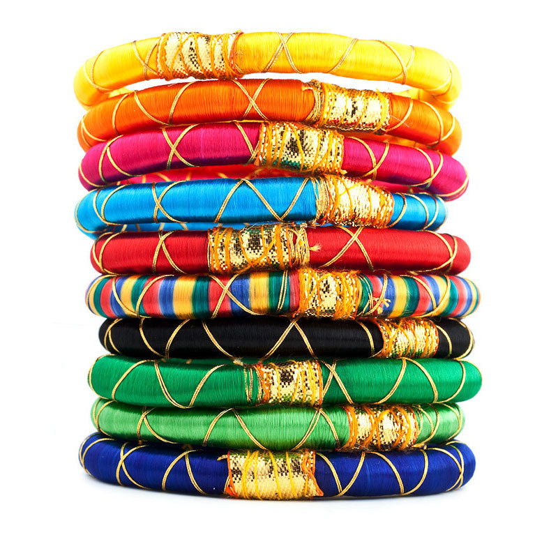 Monsoon Gold Accent Bangles