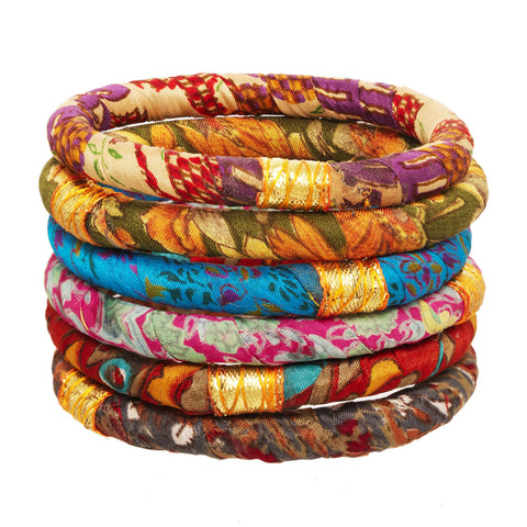 Nirvanam Bangles For One Week of School