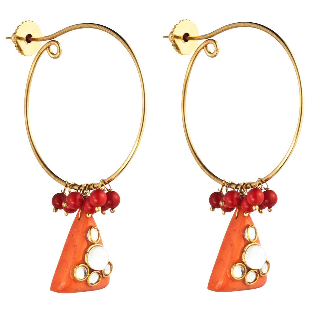 Orange Crush Hoops