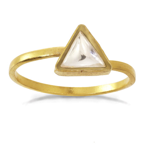 Chamak Triangle Ring