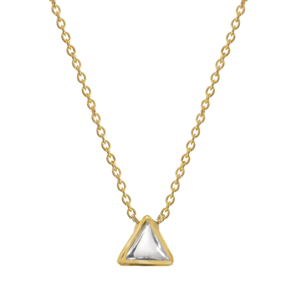 Chamak Triangle Necklace
